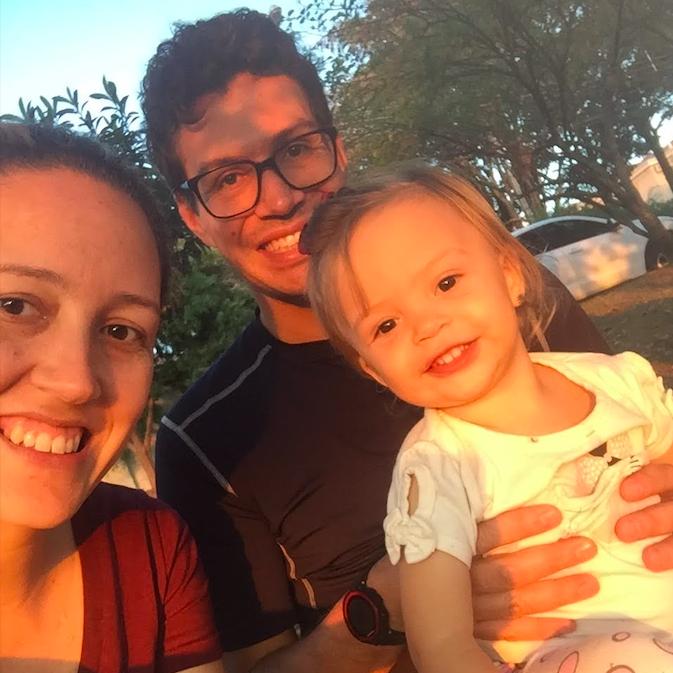 André Almeida e família