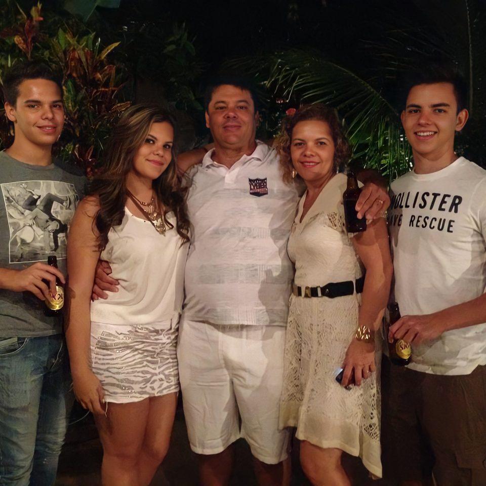 Renato Manocchi e família